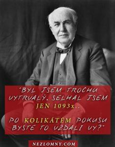 Thomas Edison citat